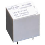 Реле QY152F-005-ZS 17A 1C coil 5VDC