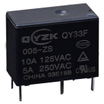 Реле QY33F-005-ZS 10A 1C coil 5VDC