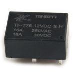 Реле TF-T76-12VDC-S-H 16A 1A coil 12VDC